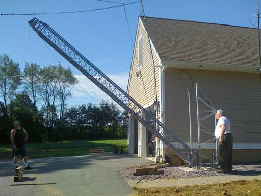 VHF Tower Installation