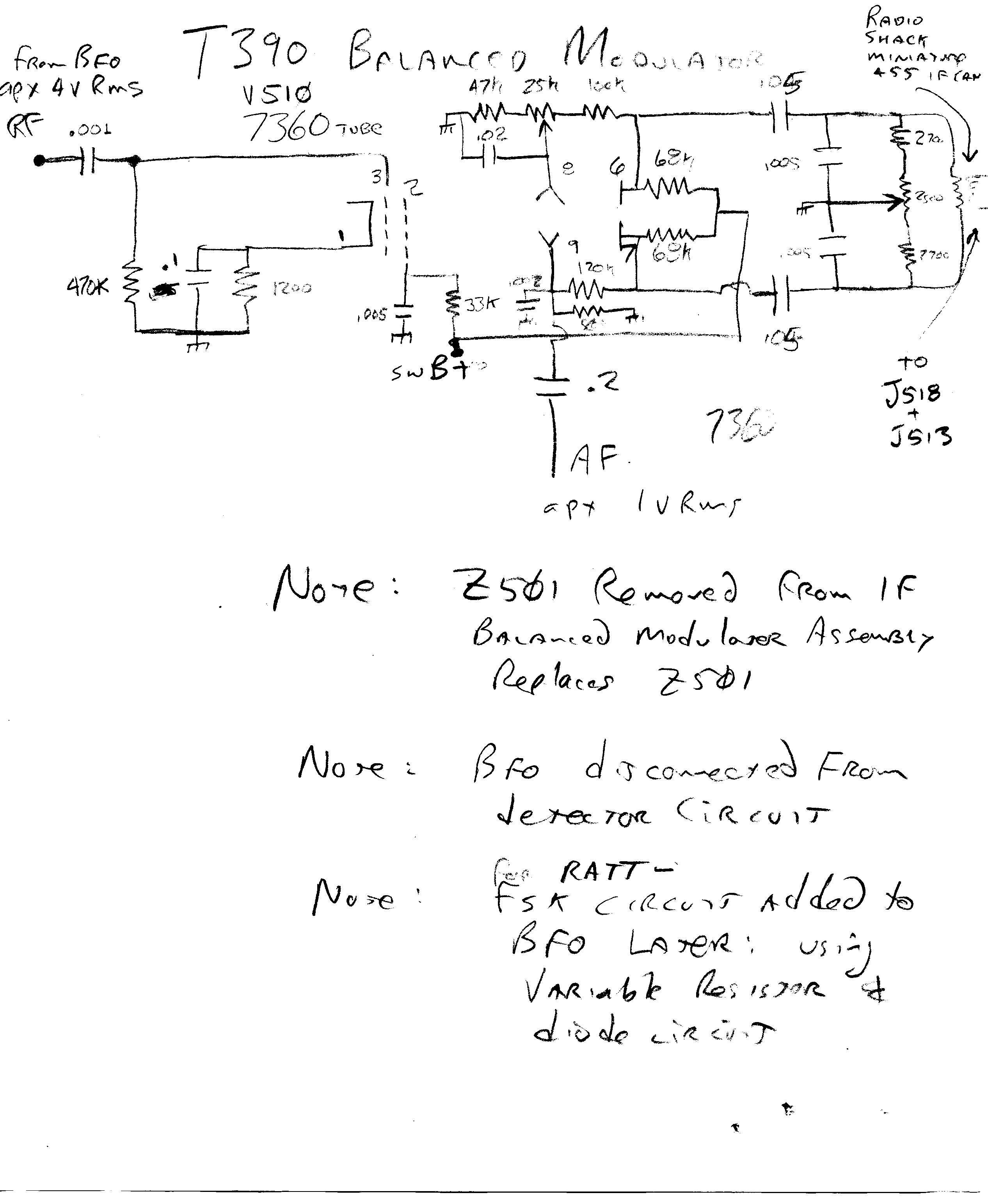 schematic diagram for rf modulator  schematic  free engine